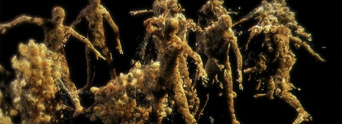 sand men destruction with PFlow Box#2 and Krakatoa