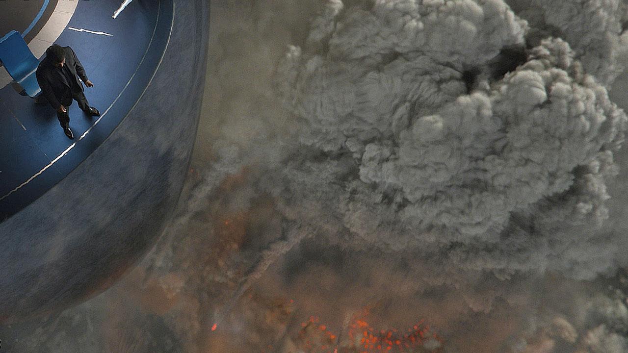 Cosmos TV Show VFX of Vulcano Edna