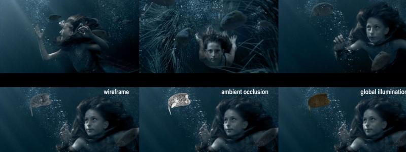 Clorox Commercial Mermaid Making Of