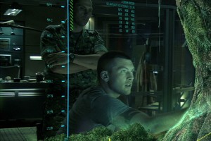 Avatar Movie VFX Home tree holographic table